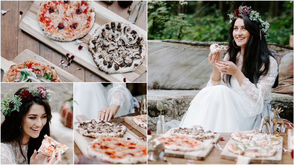 Alternative wedding food trends 2019
