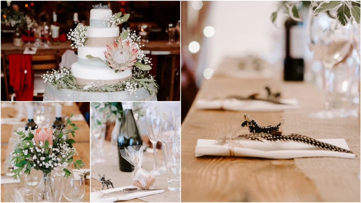 South african themed Tipi wedding