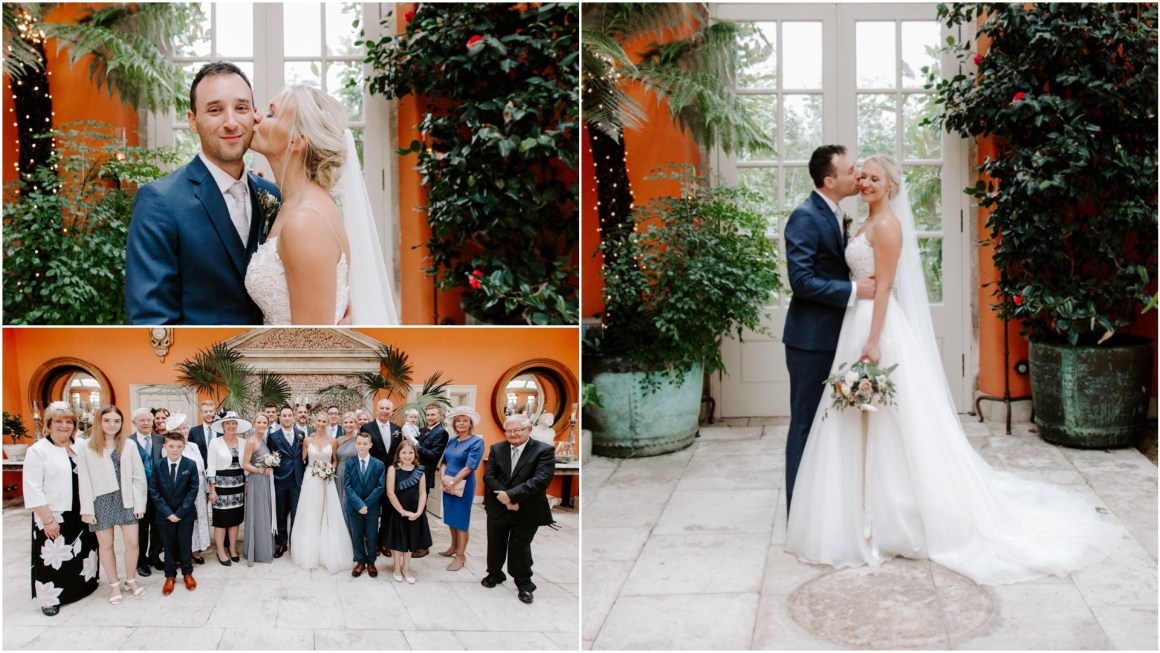 Relaxed wedding photography at the Lost Orangery Euridge