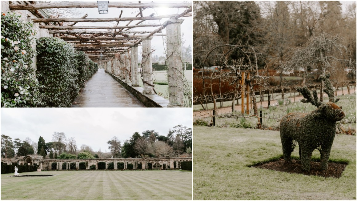 The Italian Gardens at Hever Castle wedding venue