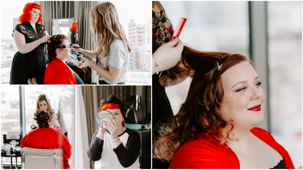 Rock'n'Roll Bridal Prep in Greenwich