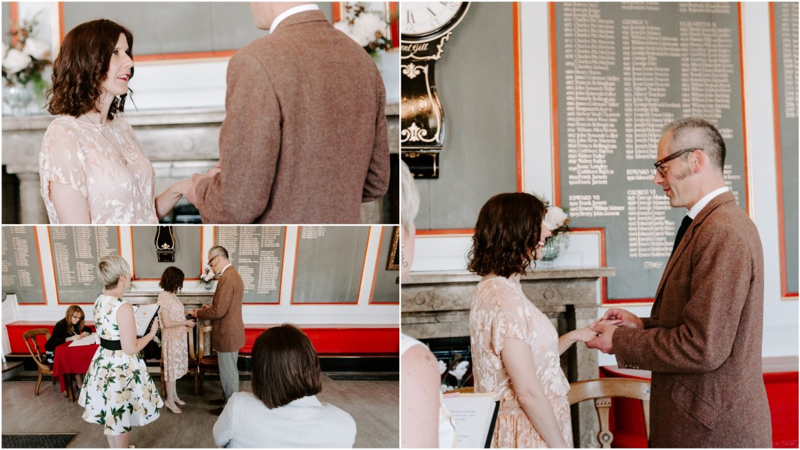 Rye Town Hall wedding with
