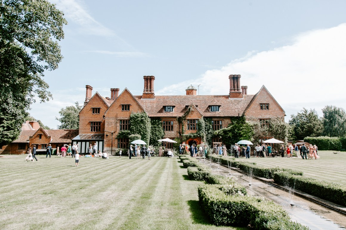 Woodhall Manor wedding venue in Suffolk