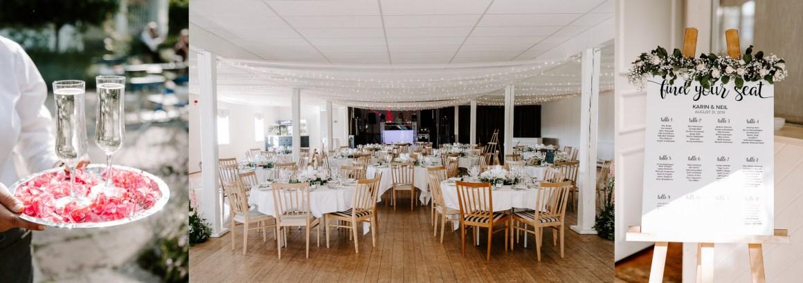 Wedding decor at Baldersnas