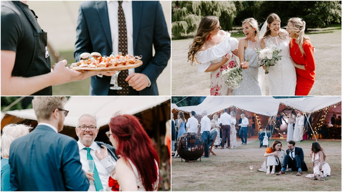 Outdoor wedding Hertfordshire