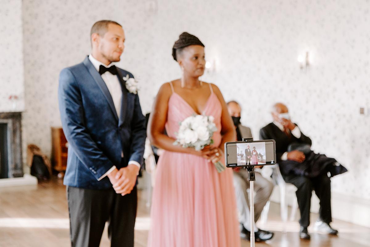 Live streaming a 2020 wedding ceremony
