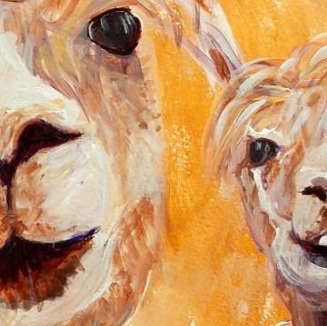 Alpaca and Llama Art