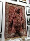 bear art, Royal Academy Summer Exhibition 2018, red rug