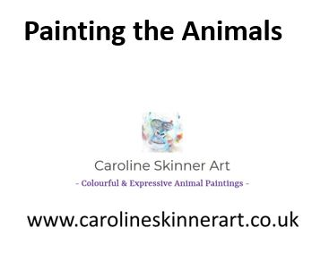 painting the animals, art illustrated talk, guest speaker, art talk, art speaker