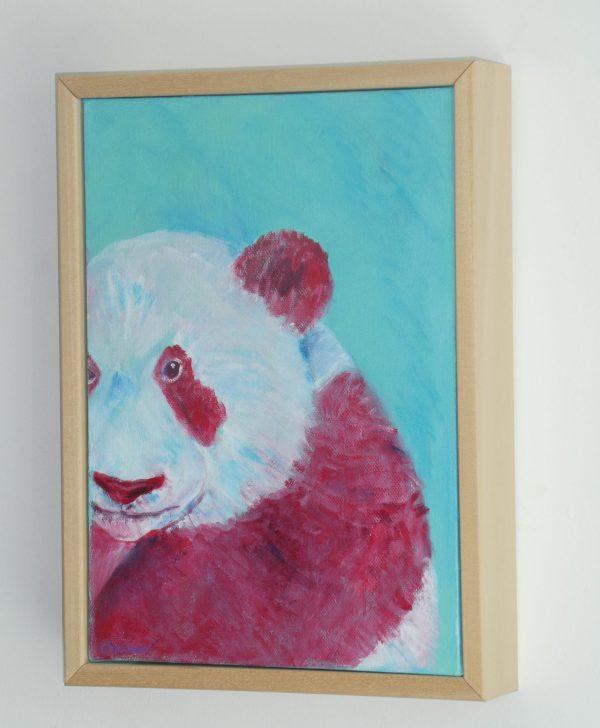 giant panda painting