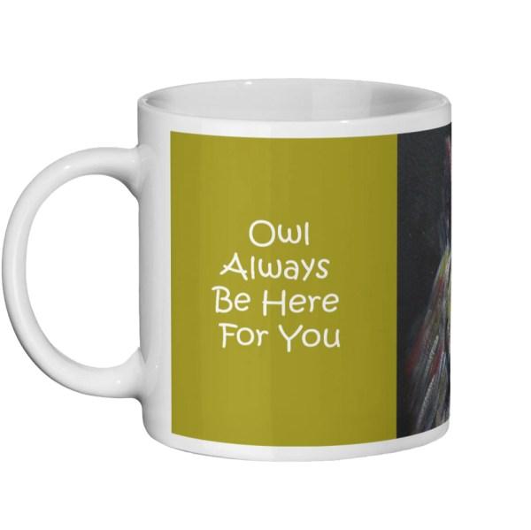 Owl lover pun mug