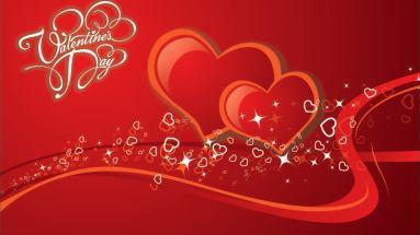 Saint Valentines Day menu