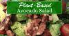 Plant Based Avocado Salad