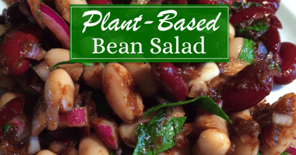 Plant Based Bean Salad