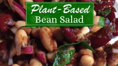 Plant Based Bean Salad