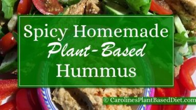 Spicy Homemade Hummus