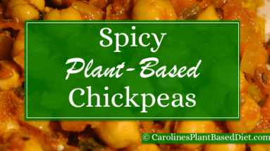 Spicy Chickpeas w Brown Rice