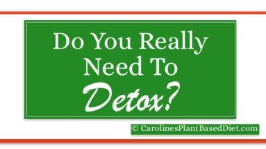 Do you really need to detox?