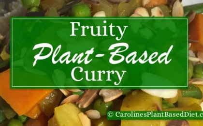 Fruity Plant-Based Curry