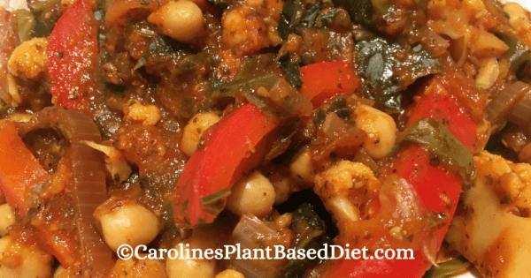 Plant-Based Vegetable Jalfrezi