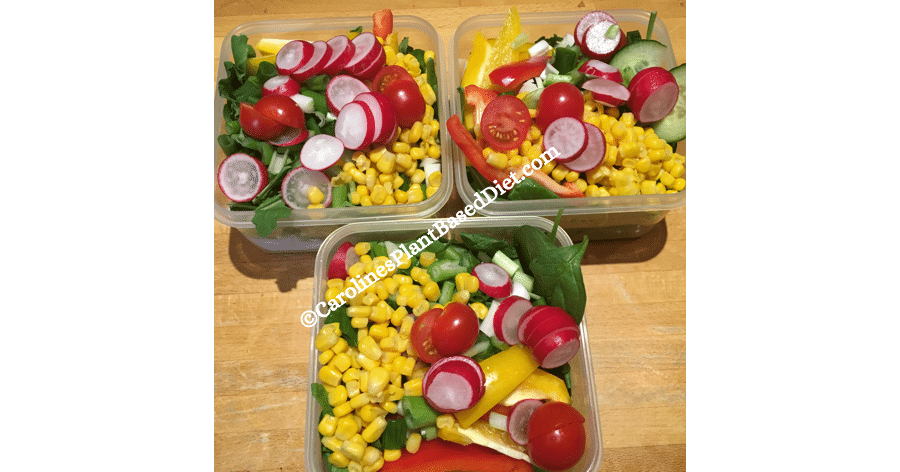 June salad batch plant based lunches 2018