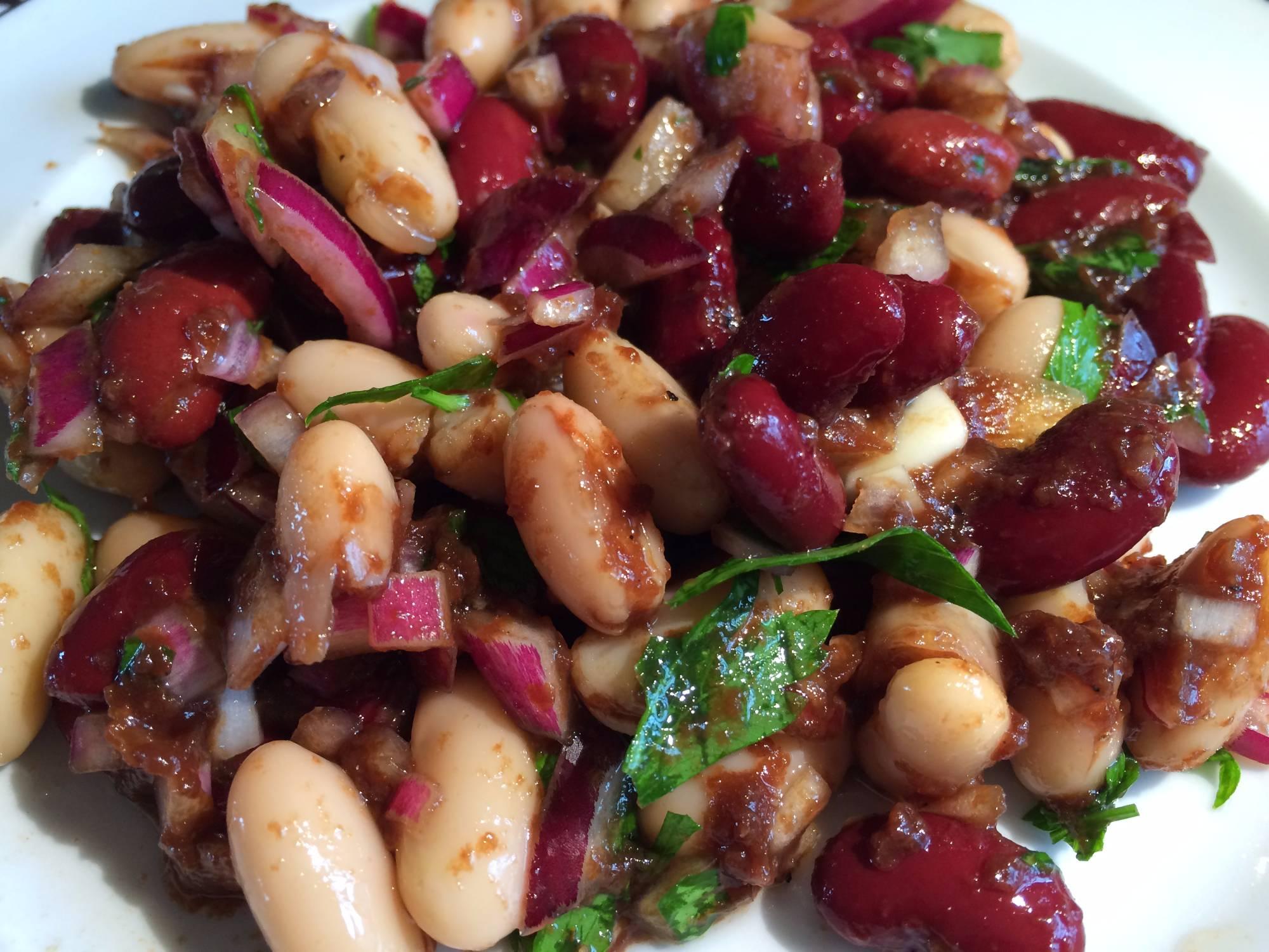 Plant-Based Bean Salad
