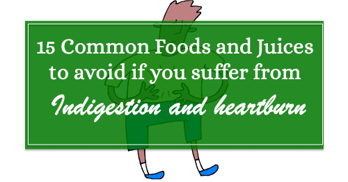 15 common foods to avoid if you suffer from heartburn or indigestion