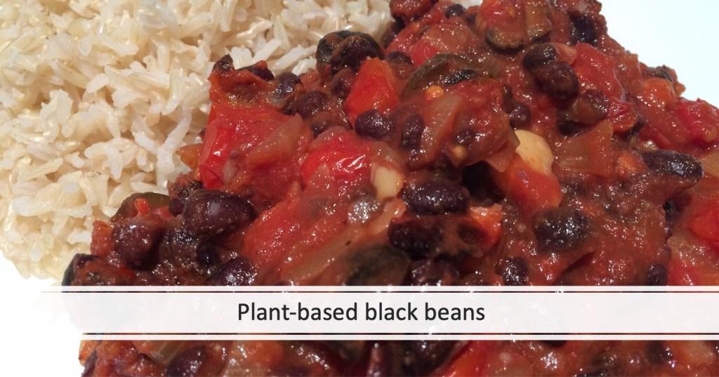 Plant-based black beans