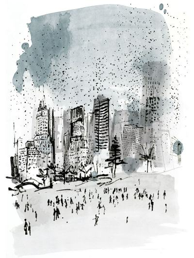 Christmas in NYC – Illustrated interview with GEOTravel