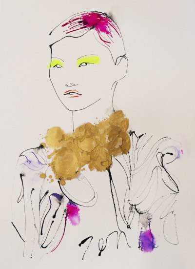 Fashion Illustrators Exhibition – ACID Gallery, France 2020