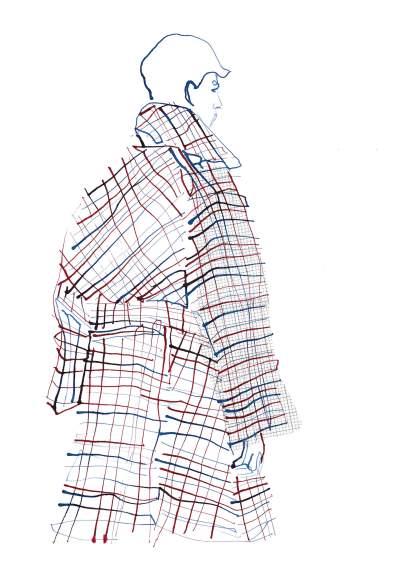 Fashion Illustration – Steven Stokey Daley Menswear 2020