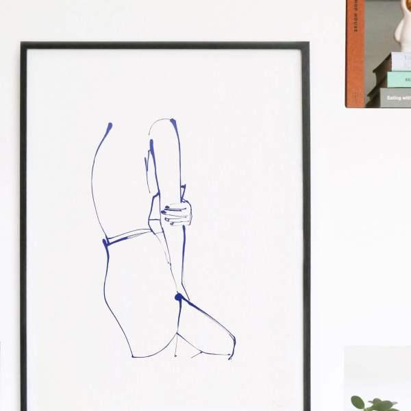 Undress - Arm - Silkscreen Print
