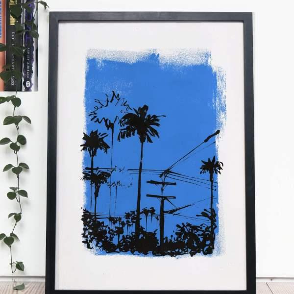 DTLA - Endless Summer Silkscreen Print