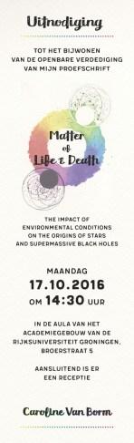 PhD Thesis Invitation