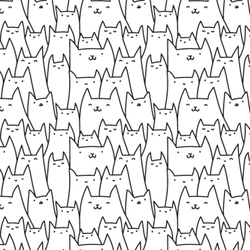 Day 07: Cats Pattern