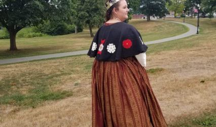 Needleworkers of Carolingia – Rose Cloak