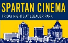 Join us for FREE summer movies in the park: UNCG Presents Spartan Cinema at LeBauer Park!  **Bring a blanket or lawn chair and lounge on the Great Lawn and enjoy the pre-show entertainment. **Time: Movie starts at dusk at approximately 8:20pm **Food: Delicious Mediterranean, Asian Cuisine and beverages are available for purchase from LeBauer Park kiosks Ghassan's and Noma Food & Co. Please drink responsibly. **Location: LeBauer Park, 208 N Davie St, Greensboro NC 27401 **Parking: Free parking is available in the Church St Parking Deck, 215 N Church St, Greensboro NC 27401 **Social media: Look for UNCG's event Snapchat filter each night. Share your photos on Twitter and Instagram by tagging them #SpartanCinema and #UNCG125.  July 21: Beauty and the Beast July 28: The Peanuts Movie August 4: Lego Batman Movie August 11: Zootopia August 18: La La Land August 25: Jurassic World September 1: Captain America: Civil War September 15: Star Wars: The Force Awakens September 22: Hidden Figures  Special thanks to our Presenting Sponsor: The University of North Carolina at Greensboro - UNCG Community Sponsor: Revolution Mill