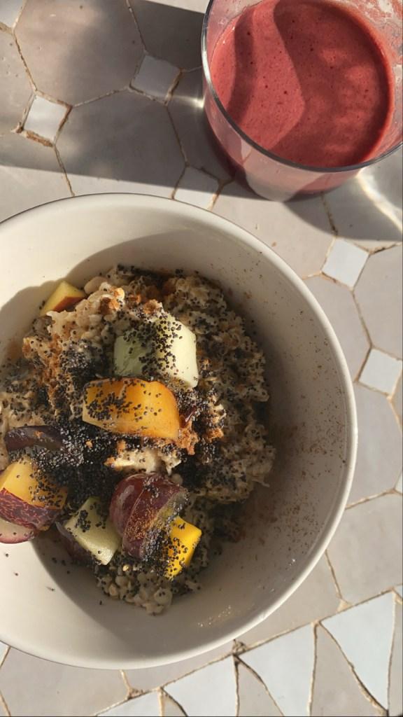 Ibiza Food Guide, Food Guide, Ibiza, Ibiza Food, Restaurants, Frühstück, healthy Food, gesunde Ernährung, vegan, Farm-to-Table, Farm-to-Fork, Atzaro, Agroturismo Atzaro, Porridge