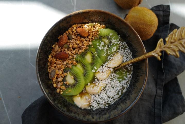 Powerfood: Green Smoothie Bowl