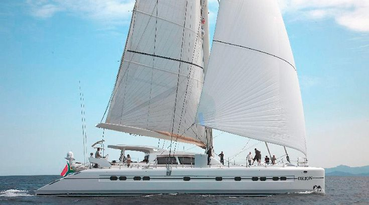 74' S/Y ORION catamaran