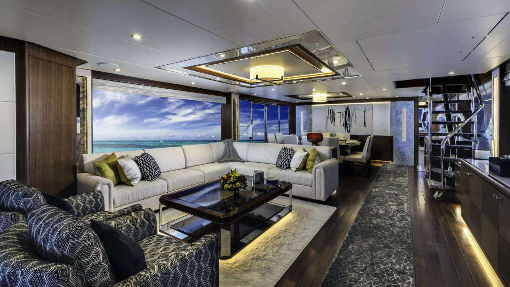 SUGARAY's stylish salon has a luxurious indoor/outdoor feel