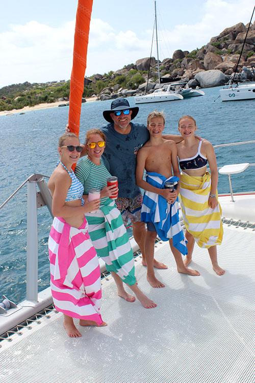 Ballard Family on 46ft catamaran S-Y STARFISH