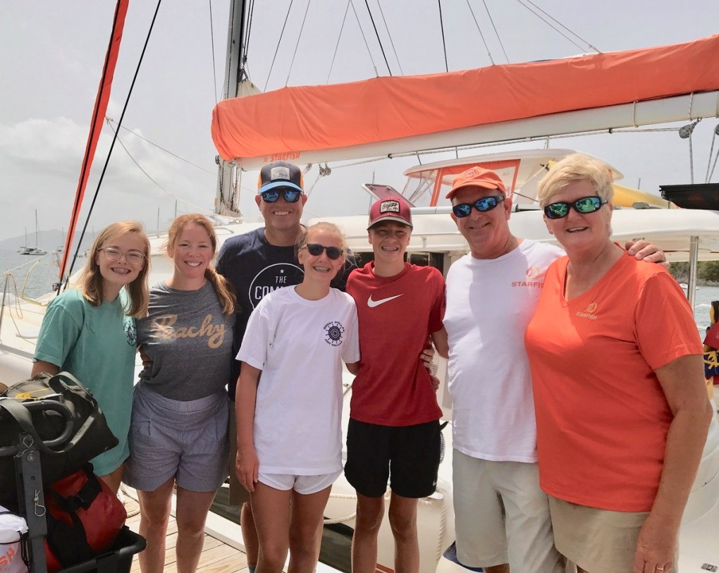 Ballards on Dock by S-Y STARFISH with Captain Sam and FirstMate and Chef Jen