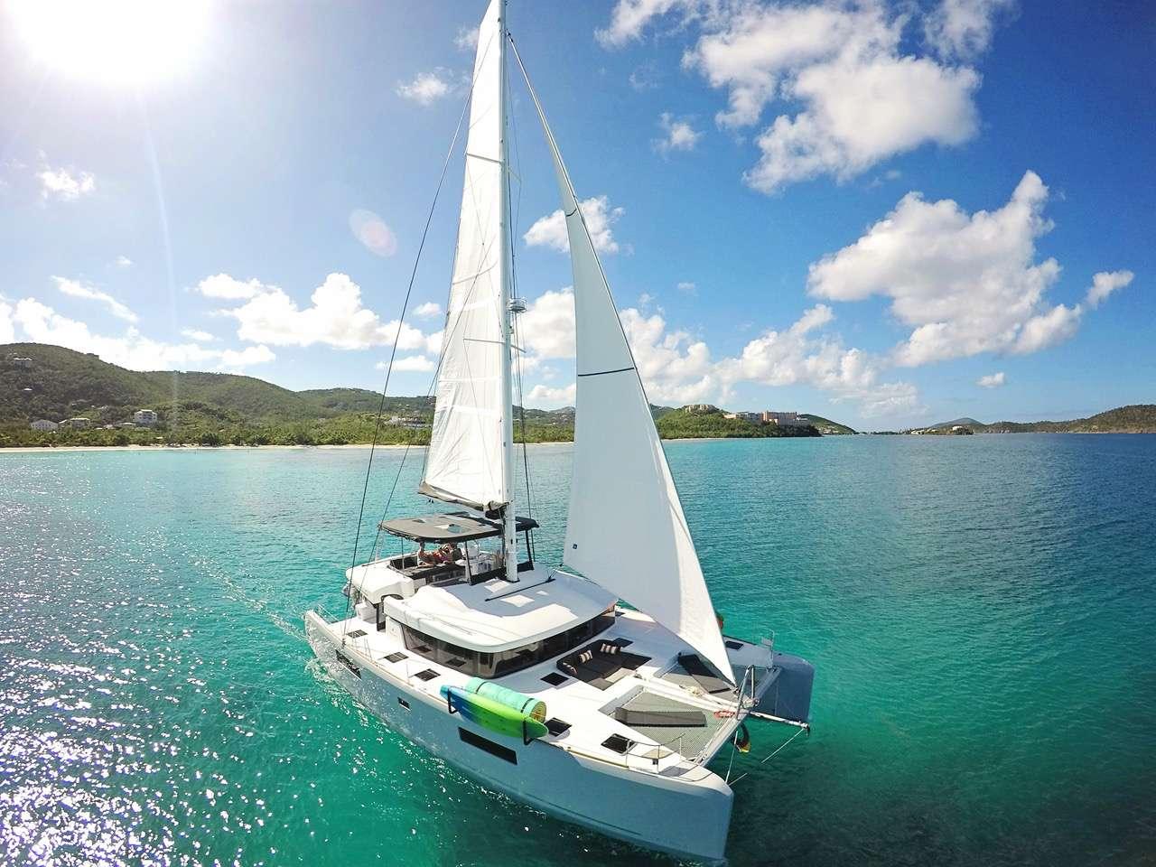 52' Lagoon in the Caribbean