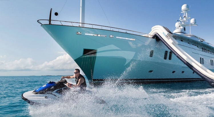 201ft CRN motor yacht KATHARINE operating in the West Mediterranean, Indian Ocean and the East Mediterranean