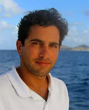 Filmmaker and Captain Giovanni Damiani of 65ft Sailing Catamaran Lolalita