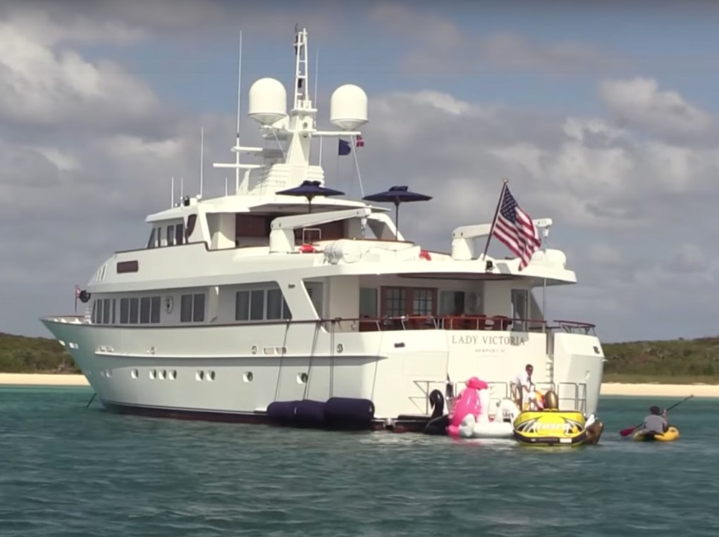LADY VICTORIA offers a complete escape from the average and ordinary, available in North America and the Bahamas