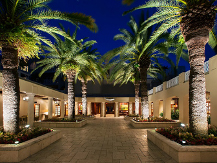 Entrance to Cheeca Lodge and Spa in Upper Mattecumbe Key, Florida