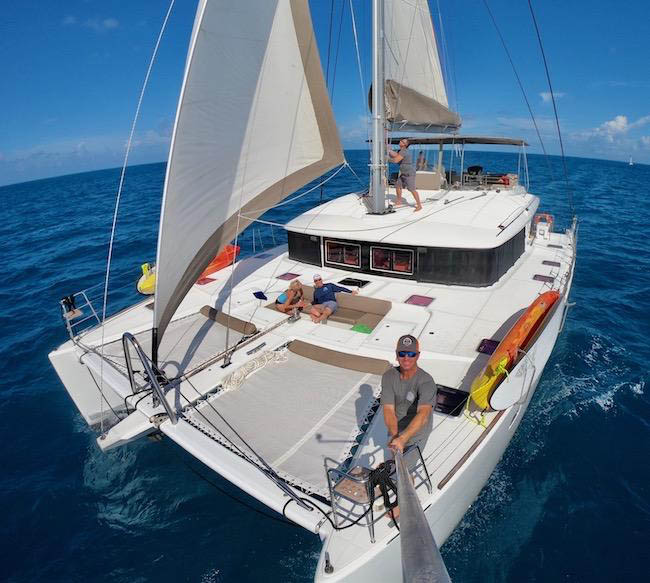 56ft Lagoon catamaran COPPER PENNY operates in The Caribbean