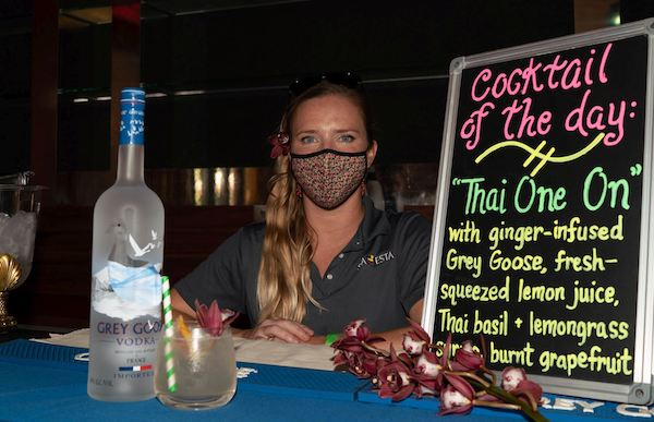 Best Grey Goose Cocktail in Show by S-Y SEA ESTA at the USVI Charter Yacht Show 2020